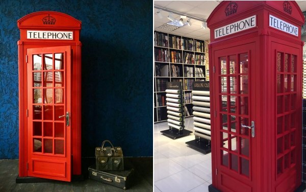 K2 telephone box built by Evgeny