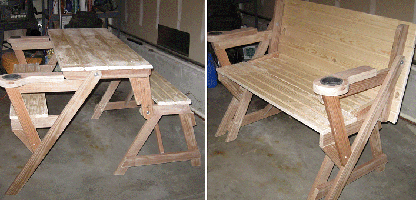 - How To Make A Compact Folding Picnic Table BuildEazy