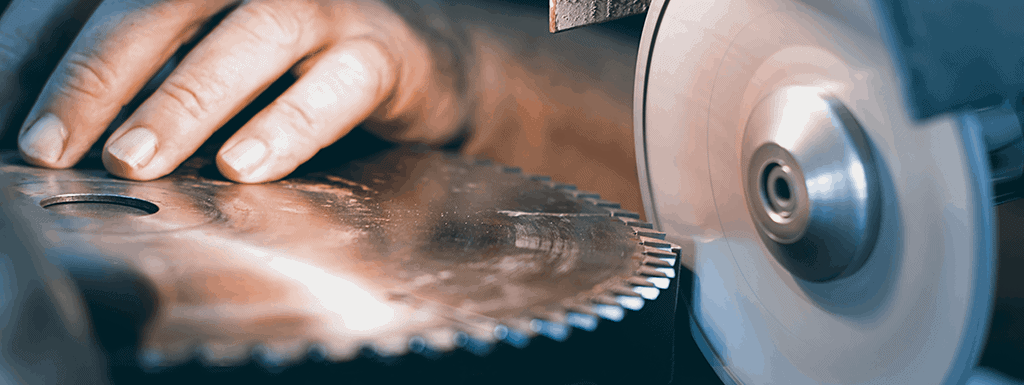 Sharpen Table Saw Blade